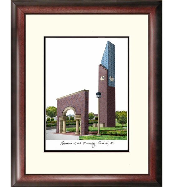 NCAA Minnesota State University Mankato Framed Photographic Print by Campus Images