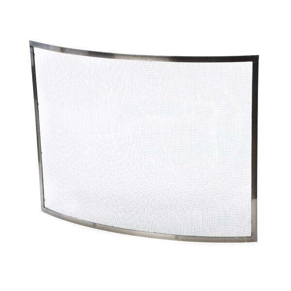 1 Panel Steel Fireplace Screen By Uniflame