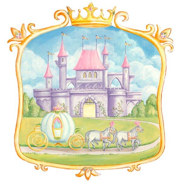 Pretty Princess Castle Wall Mural by Oopsy Daisy