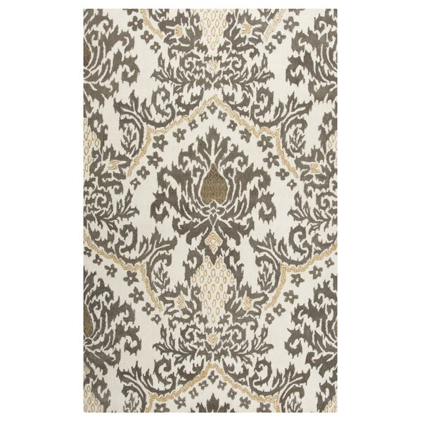 Montevideo Hand-Tufted Beige Area Rug by Meridian Rugmakers