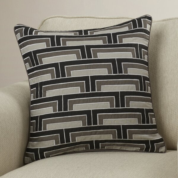 Balard Linen Square Throw Pillow by Orren Ellis