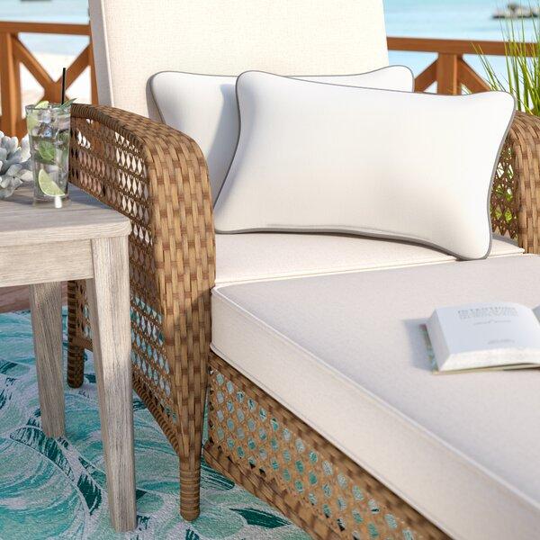 Dorset Indoor/Outdoor Sunbrella Lumbar Pillow (Set of 2) by Beachcrest Home