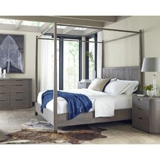 Palmer Queen Canopy Customizable Bedroom Set by Brownstone Furniture