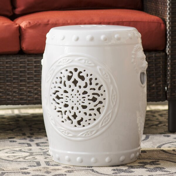 Quarryville Drum Garden Stool By Three Posts