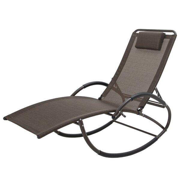 Edgarton Adjustable Rocking Reclining Chaise Lounge by Latitude Run Latitude Run