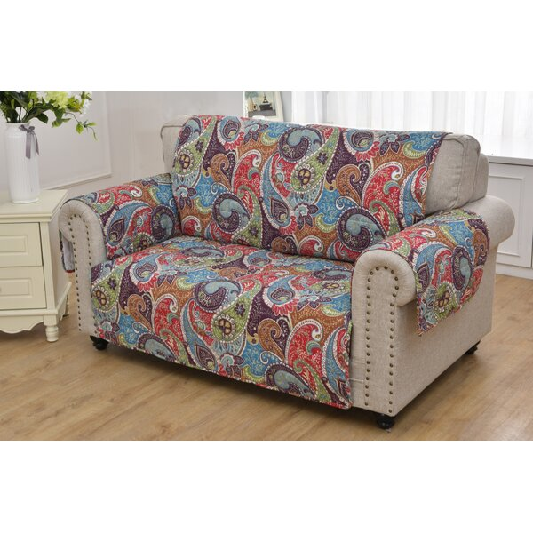 Sayler Loveseat Slipcover by World Menagerie