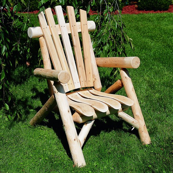 Atmore Solid Wood Adirondack Chair by Loon Peak Loon Peak