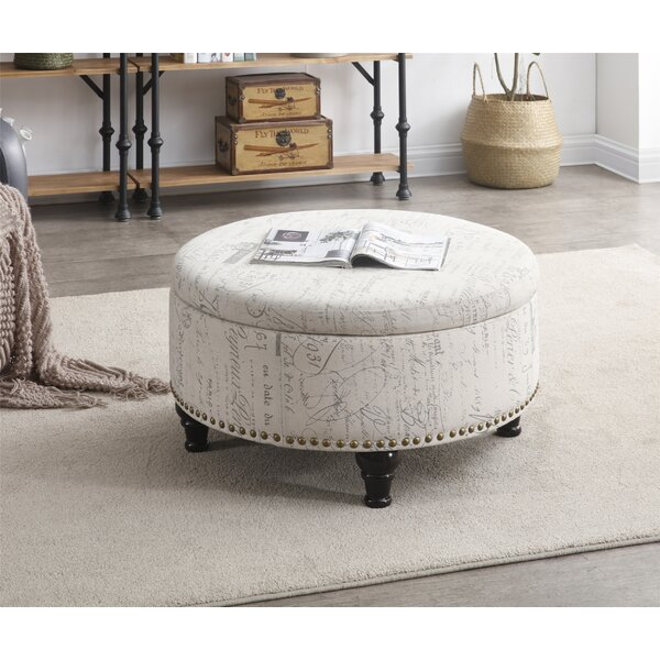 Maron Storage Ottoman by Ophelia & Co.