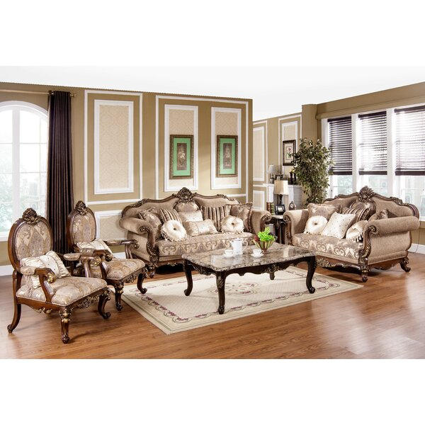 Encinas 3 Piece Living Room Set by Astoria Grand
