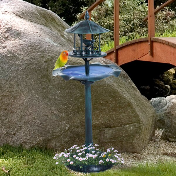 3-in-1 Birdbath by Outsunny
