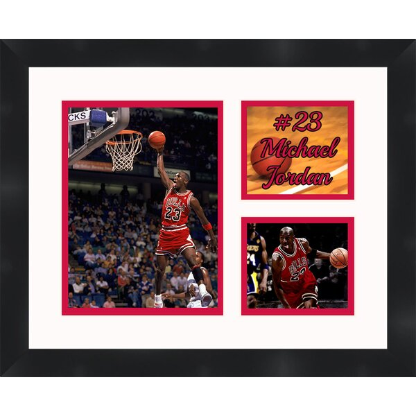 Frames By Mail \'Michael Jordan\' Framed Photographic Print & Reviews ...