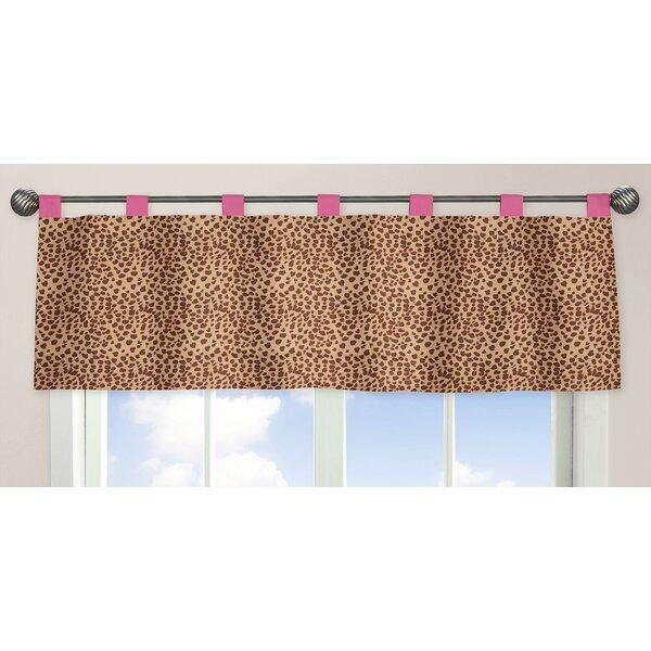 Cheetah Pink 84 Curtain Valance by Sweet Jojo Designs