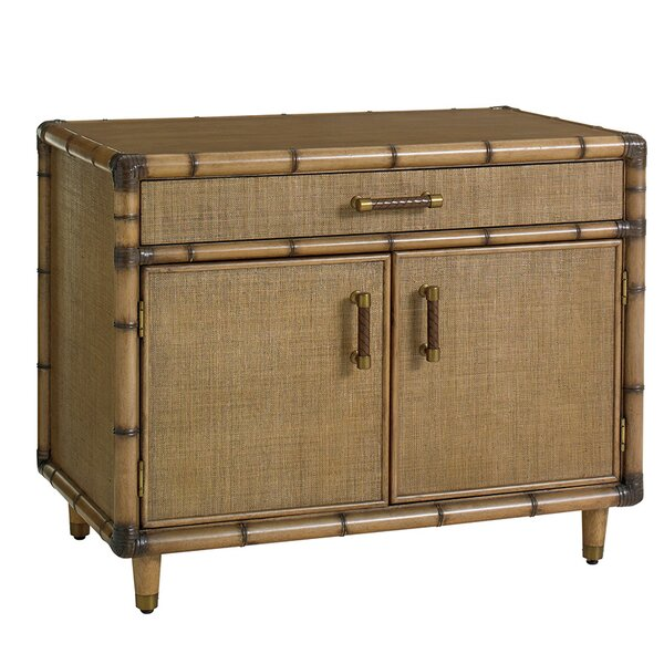 Twin Palms Larimar Storage Accent Cabinet by Tommy Bahama Home
