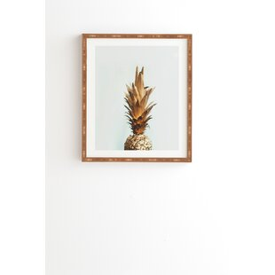 The Gold Pineapple Framed Photographic Print