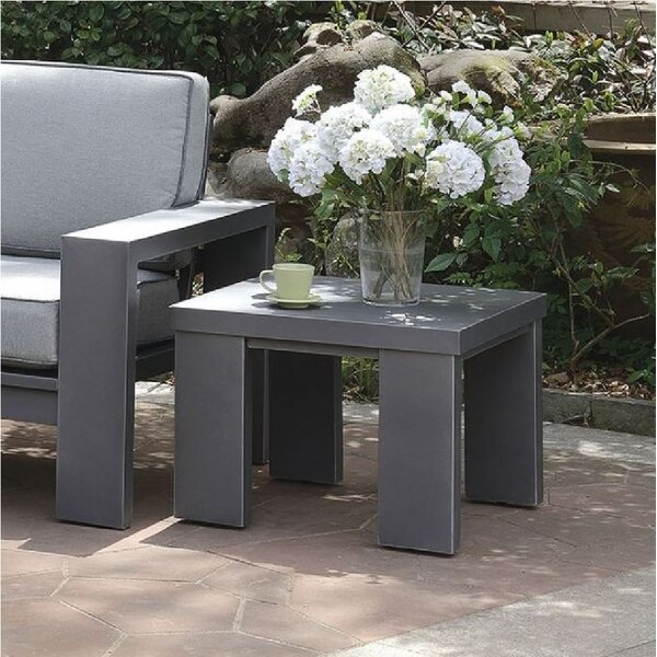 Ria Metal Side Table by Orren Ellis