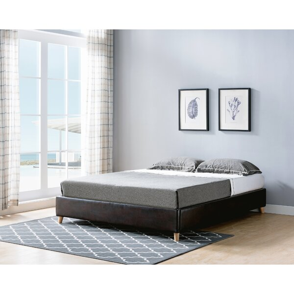 Goodwater Queen Upholstered Platform Bed by Ebern Designs