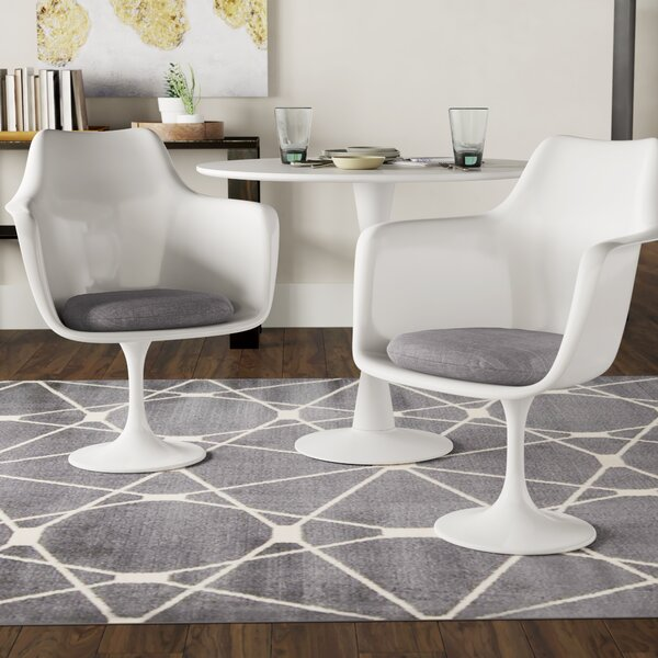 Julien Upholstered Dining Chair (Set of 2) by Langley Street