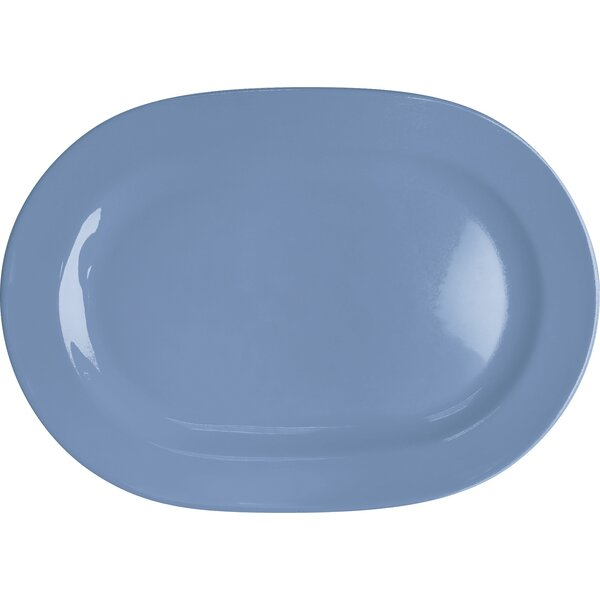 Chartridge Bell Oval Platter (Set of 2) by Red Barrel Studio