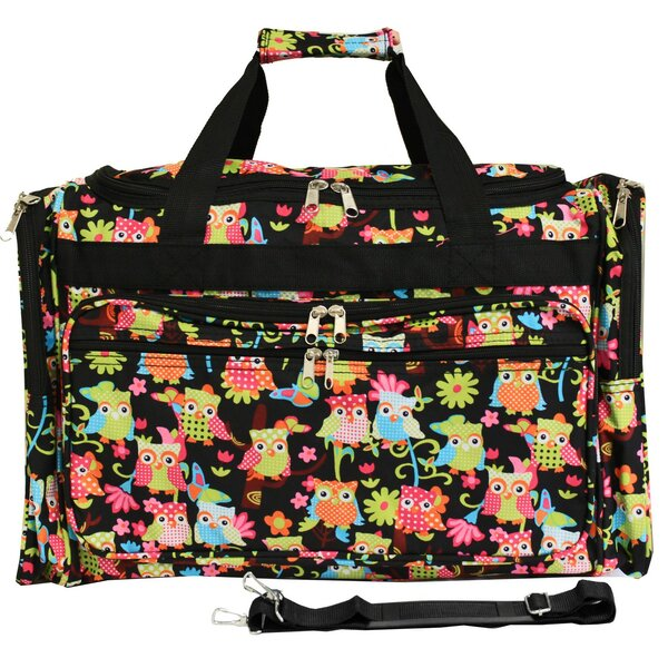 Owl 22 Travel Duffel by World Traveler