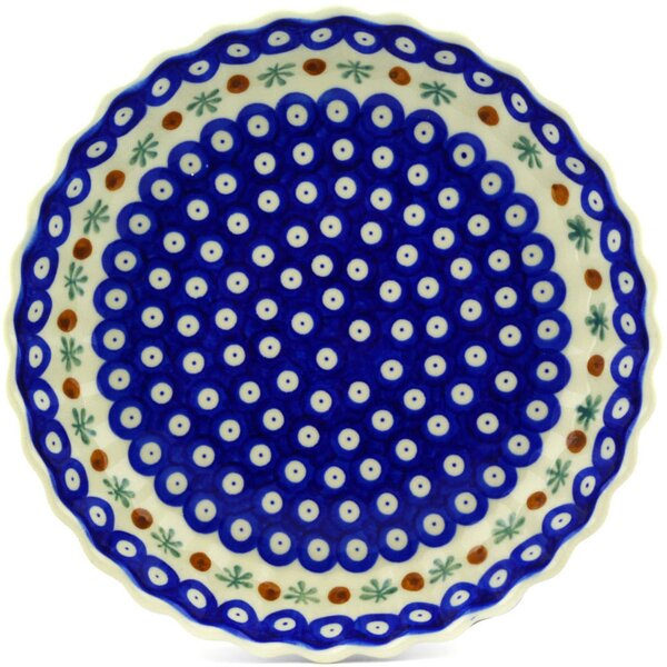 Mosquito Fluted Pie Dish by Polmedia