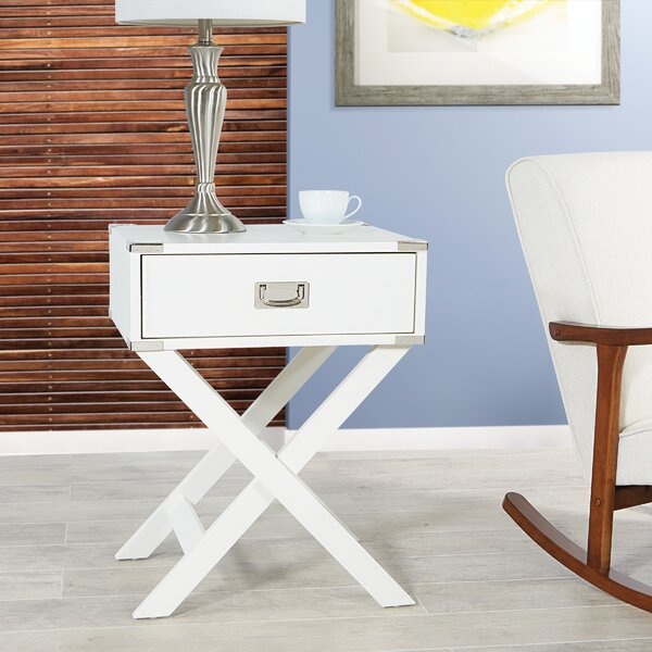 Deshawn End Table with Storage by Wrought Studio Wrought Studio