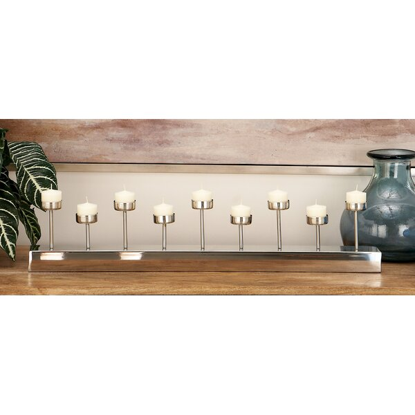 Stainless Steel Candelabra by Cole & Grey