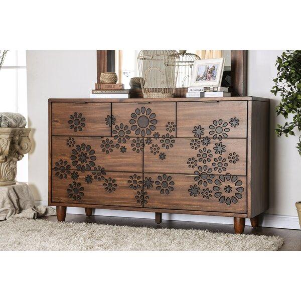 Alayah 7 Drawer Double Dresser by Orren Ellis