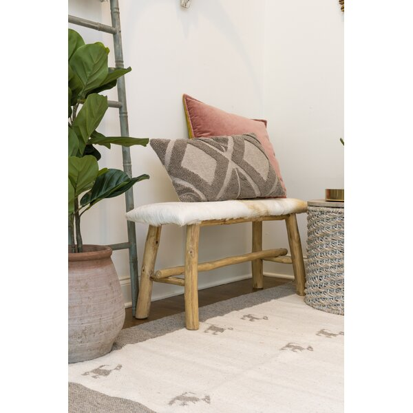 Noell Upholstered Bench by Union Rustic Union Rustic