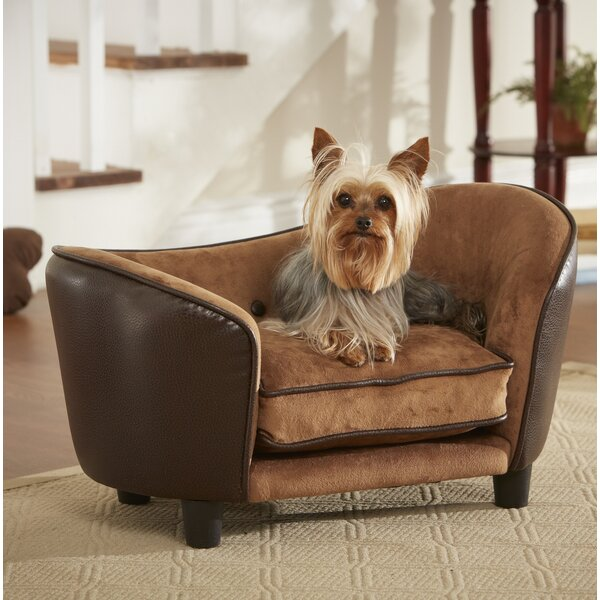 Ultra Plush Snuggle Dog Sofa by Enchanted Home Pet