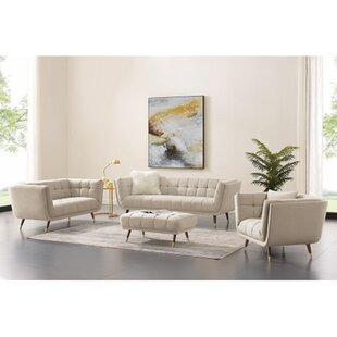 Boutant 3 Piece Configurable Living Room Set by Corrigan Studio®
