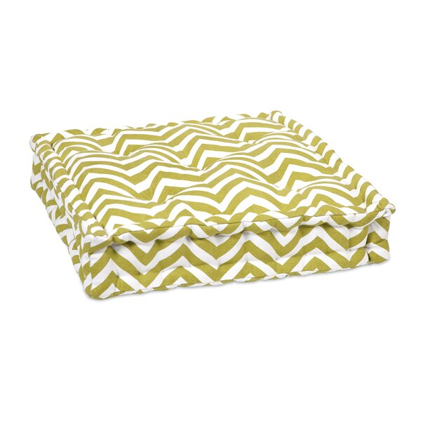 Liana Cotton Floor Pillow by Latitude Run