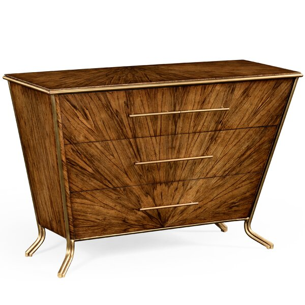 3 Drawer Bachelors Chest by Jonathan Charles Fine Furniture