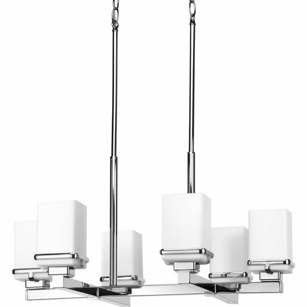 Chen 6 - Light Shaded Classic / Traditional Chandelier By Latitude Run