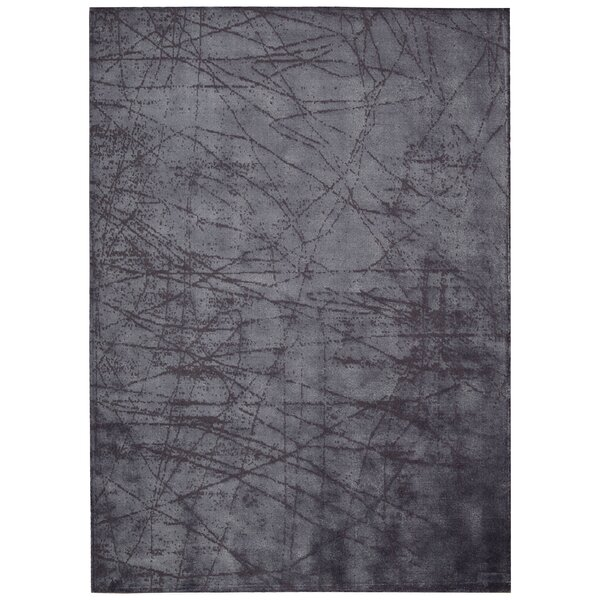 Maya Hand Woven Wool Etched Light Orchid Area Rug by Calvin Klein