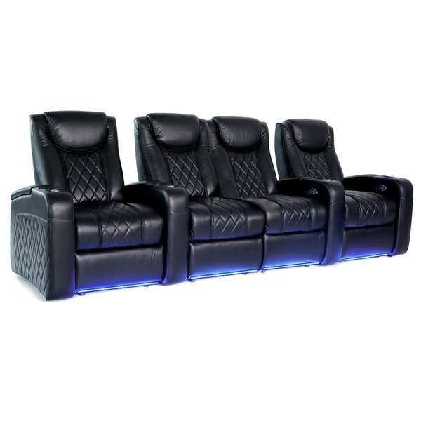 Azure HR Series Home Theater Loveseat (Row Of 4) By Red Barrel Studio