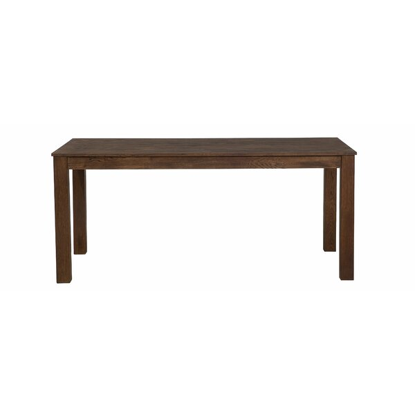 Lossett Extendable Solid Wood Dining Table by Millwood Pines