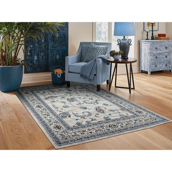 Resendiz Gray Indoor/Outdoor Area Rug by Charlton Home