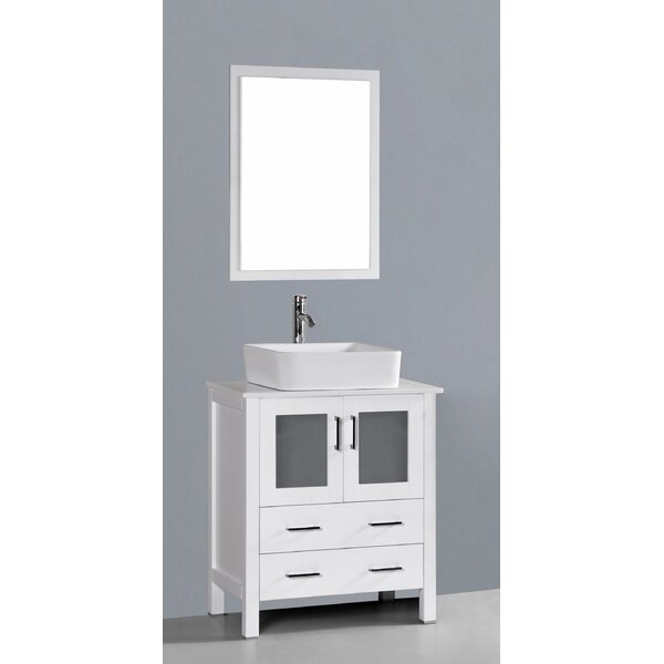 Netto 30 Single Bathroom Vanity Set with Mirror by Ebern Designs