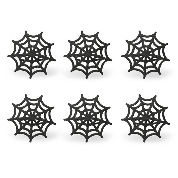 Wed Spider Napkin Ring (Set of 6) by Design Imports