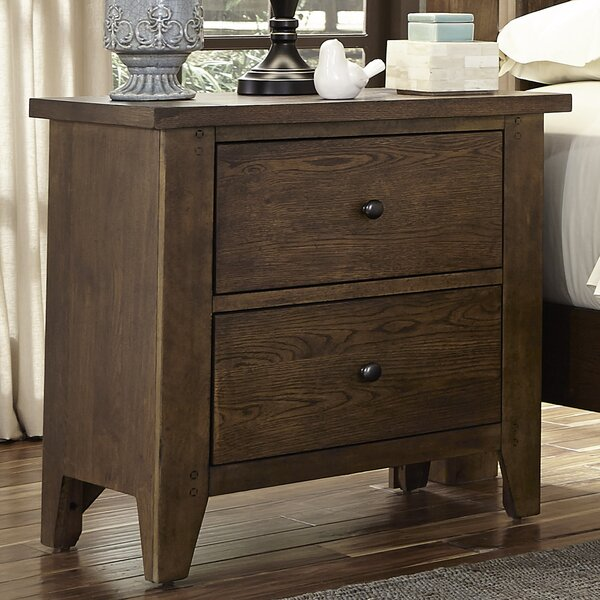 Warleigh 2 Drawer Night Stand by Charlton Home