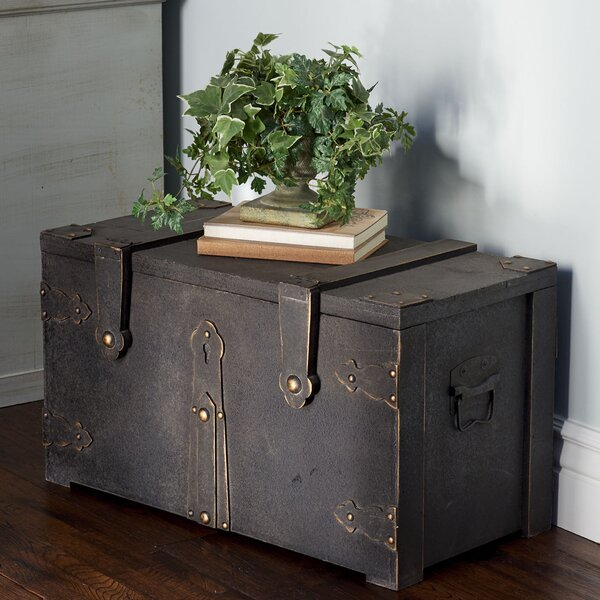 Barrera Wooden Trunk by Williston Forge