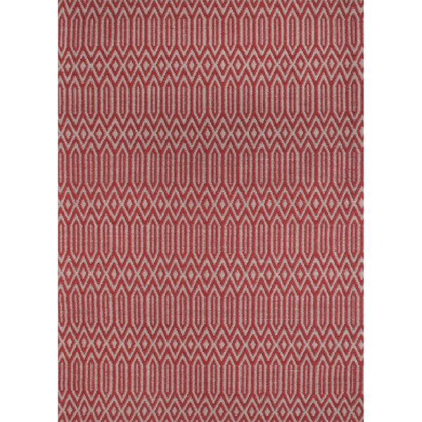 Serengeti Hand Tufted Wool Red Area Rug by Ren-Wil