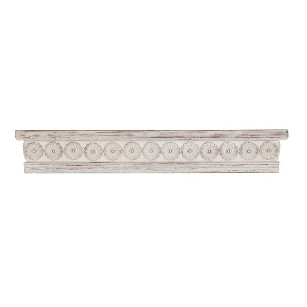 Gorrell Rustic Wood Wall Shelf by Bungalow Rose