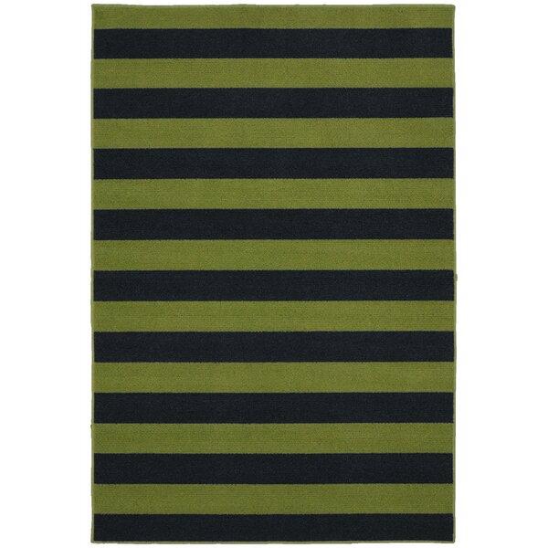 Rugby Sage/Navy Area Rug by Garland Rug