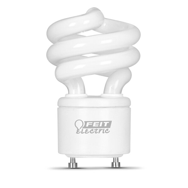 Frosted GU24 Compact Fluorescent Light Bulb by FeitElectric