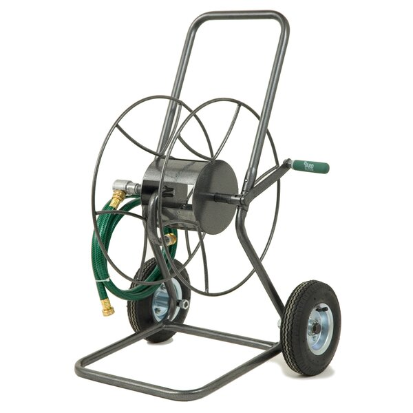 Steel Hose Reel Cart by Lewis Lifetime Tools