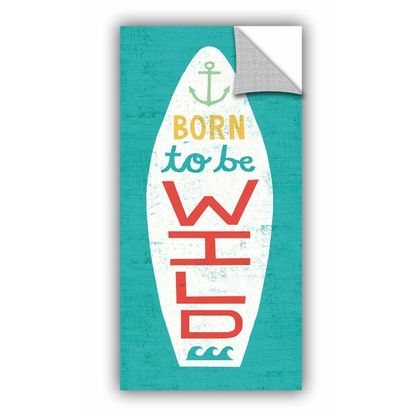 Stoll Beach Bums Surf Board I Wall Decal by Bay Isle Home
