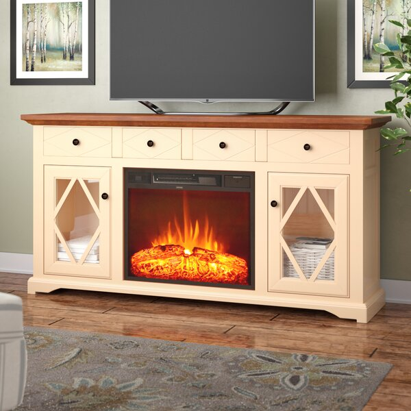 Blackwater 63 TV Stand with Fireplace by Darby Home Co