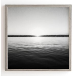 Calm Sea Framed Photographic Print by Latitude Run