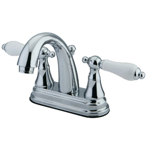 Elizabeth Centerset Bathroom Faucet With Drain Assembly By Elements Of Design